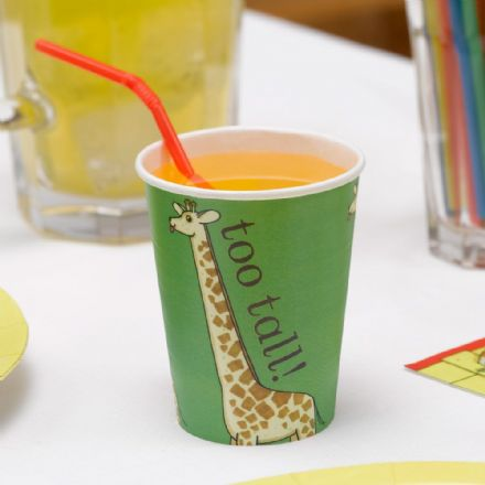 Dear Zoo Party Cups - pack of 8
